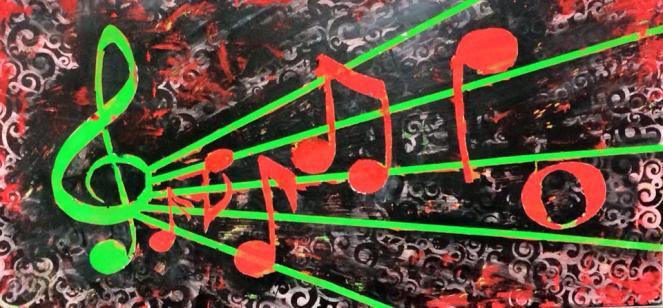 music inspired artwork_mine