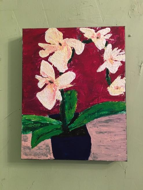 11x14 Acrylic $35