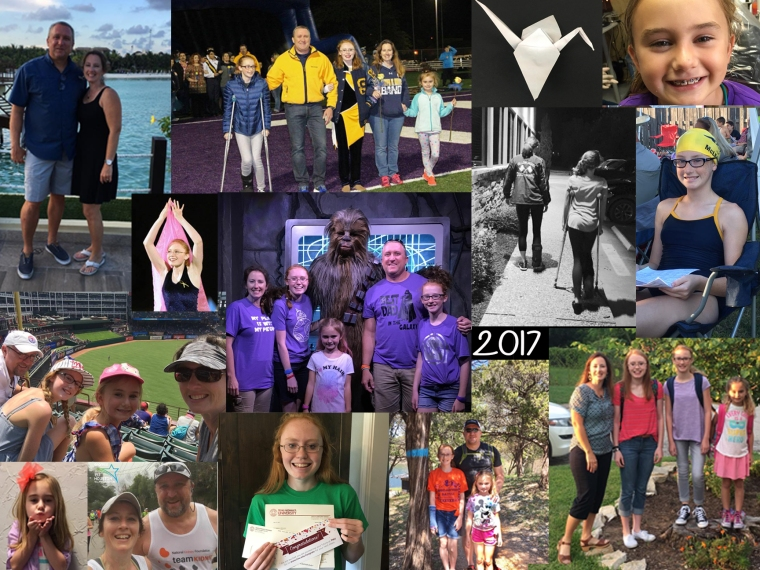 family 2017 collage